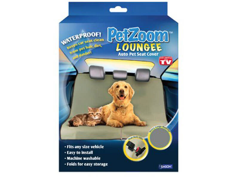 PetZoom lounge auto pet car seat cover
