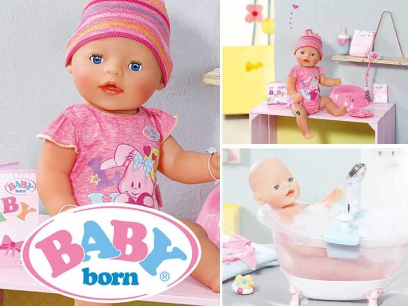 Бебе играчка - Baby Born By Zapf Creation