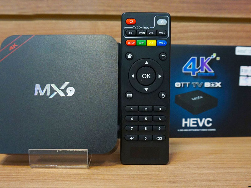 MX-9 Android WI-Fi TV Box уред