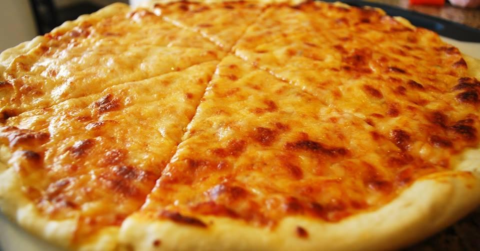 Пицца сырная рецепт с фото